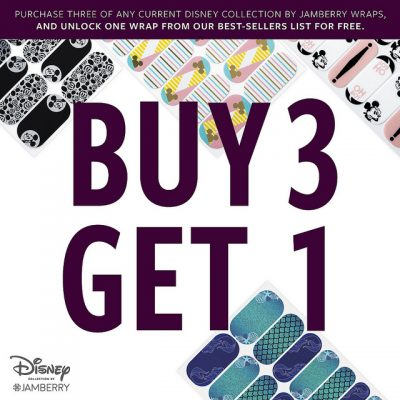 Jamberry Promo – Disney Collection.