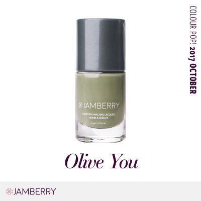 October Colour Pop – Olive You! Nail Lacquer