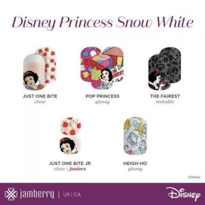 Disney Collection By Jamberry – Buy 3 Get 2  FREE  – Nail Wraps