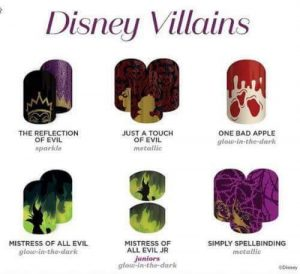Disney Collection By Jamberry - Buy 3 Get 2 FREE - Nail Wraps