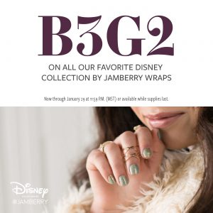 B3G2 Disney Collection By Jamberry - Back With A Bang!