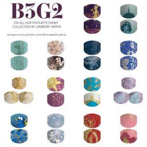 B3G2 Disney by Jamberry