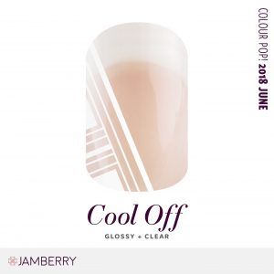 Featuring a bright-white geo pattern over a clear background, this edgy minimalistic design makes for one fierce mani on its own